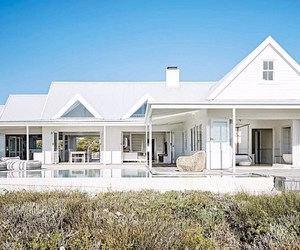 beach house, minimalist, and south africa image