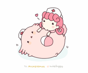 pokemon and chansey image