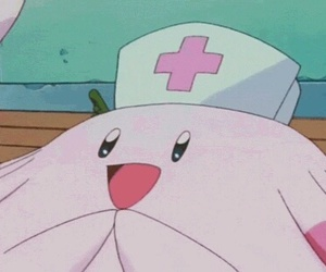 pokemon, anime, and chansey image