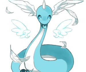 pokemon and dragonair image