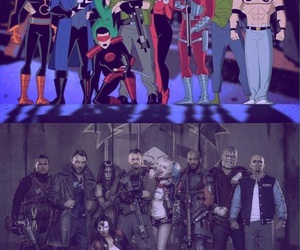 comics, DC, and suicide squad image