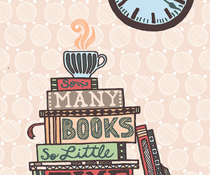books, doodle, and reading image