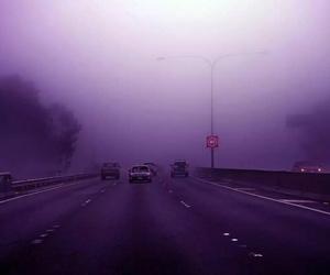 purple, grunge, and road image