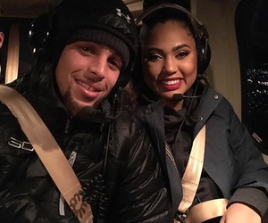 stephen curry and ayesha curry image