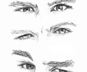 one direction, eyes, and Harry Styles image