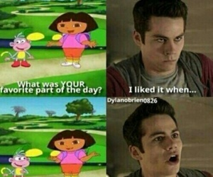 funny, Dora, and dylan o'brien image