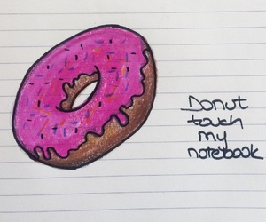 donuts and notebook image
