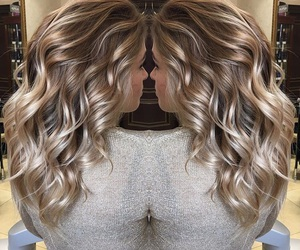 blonde, cool, and curls image