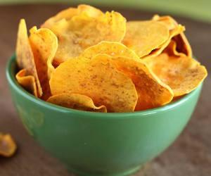 chips, potato, and yummy image