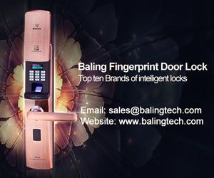 keypad door lock, fingerprint door lock, and intelligent door lock image