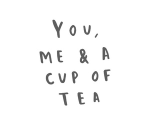 quotes and tea image