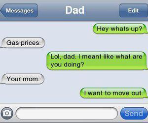 dad, lol, and funny image
