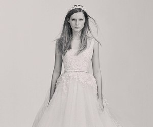 bridal, elie saab, and gown image