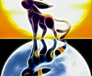 pokemon, umbreon, and espeon image