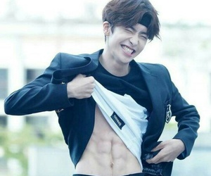 abs, boy, and kpop image