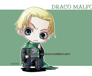 draco malfoy, harry potter, and cute image