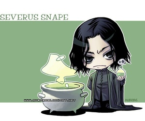 harry potter, severus snape, and cute image