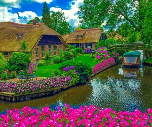 netherlands and giethoorn image