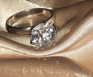 diamond, gold, and luxury image