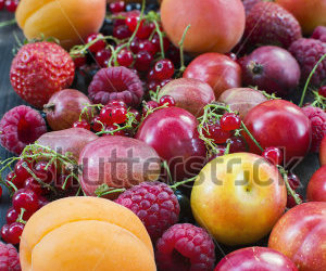 apricot, berry, and currant image