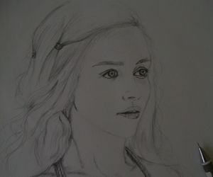 art, drawing, and gameofthrones image