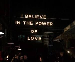 believe, love, and power image