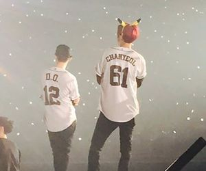 exo, chanyeol, and d.o. image