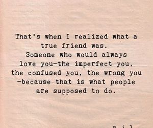 quotes, friendship, and true image