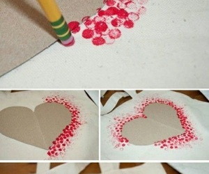 diy, heart, and red image