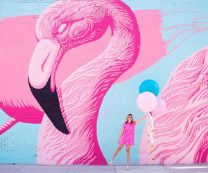 art wall, balloon, and chicago image