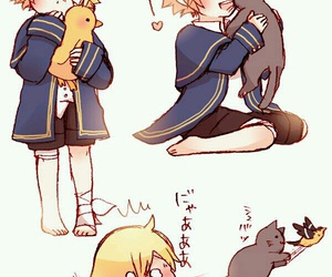 vocaloid, oliver, and bird image
