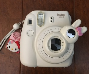 camera, instax, and white image