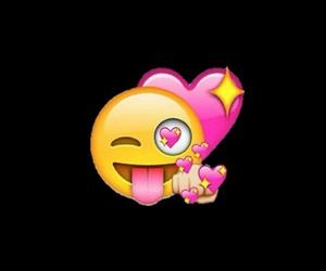 emoji, overlay, and heart image