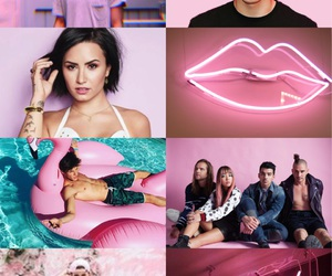 alternative, demi lovato, and grid image