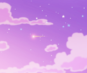purple, clouds, and sky image