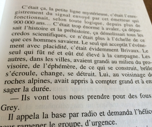 book, french, and citation image