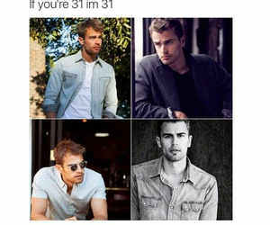 theo james, actor, and guy image