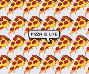pizza, wallpaper, and life image