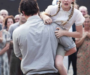 the hunger games, prim, and gale image