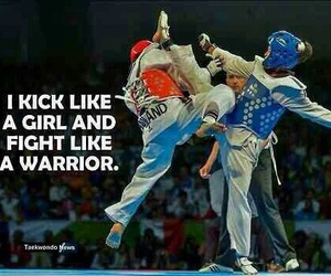fight, martial arts, and sport image
