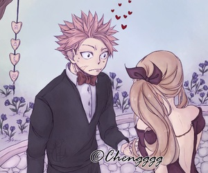 anime, fairy tail, and nalu image