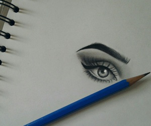 drawing and pencil image
