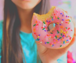 tumblr, food, and donut image