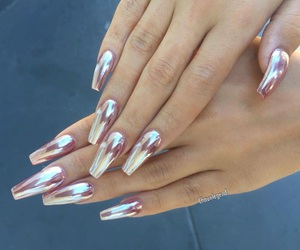 nails, beauty, and goals image