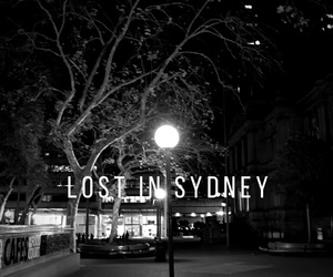 australia, black and white, and city image