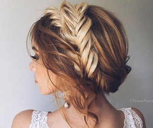 beautiful, braid, and goals image
