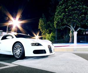 bugatti, night, and photography image
