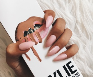 nails, kylie, and cosmetics image