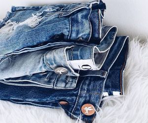 jeans, fashion, and outfit image