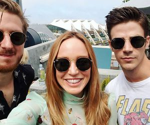 the flash, legends of tomorrow, and grant gustin image